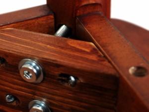 木製ダイニングテーブル 120 DT-12075BR ブラウン