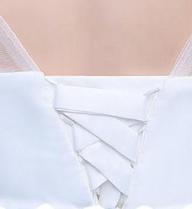 ホワイト 大きいサイズ 妊婦 ウェディングドレス ブライズメイドドレス 二次会 フォーマル 発表会 ステージ ウエディング 卒業
