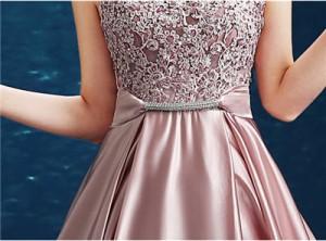 ピンク ロングドレス ブライズメイド パーティードレス ウェディング 忘年会 司会 結婚式 フォーマル 二次会
