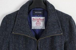 【美品】ハリスツイード × トゥモローランド マカフィー ジャケット 38 Harris Tweed TOMORROWLAND MACPHEE レディース 日本製