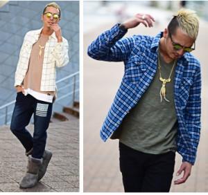 チェックシャツ メンズ 長袖シャツ ネルシャツ コットン ショート丈 チェック柄 trend_d シャツ 長袖 お兄系 服