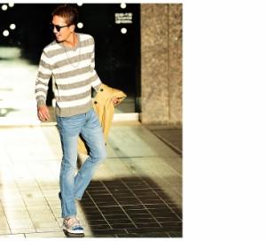 【送料無料】 スキニー デニム メンズ スキニーパンツ デニムパンツ ジーンズ trend_d オラオラ系 BITTER ビター系