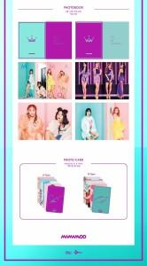 韓国音楽 MAMAMOO(ママム) - PURPLE (バージョン2種の中1種選択/CD+フォトブック82P+フォトカード1種)+ポスター筒