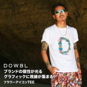 DOWBL/ダブル/フラワーアイコンTee【全1色】