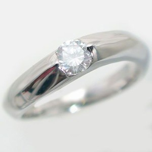 鑑定書付 ダイヤモンド プラチナ 婚約指輪 エンゲージリング 0.3ct D-VS1-EX PT900 ダイヤ 指輪
