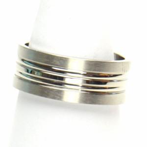 ステンレス リング 16号 レディース メンズ 指輪 ペア アクセサリー b-re48