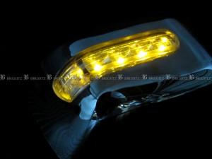 BRIGHTZ MRワゴン MF33S LEDメッキドアミラーカバー Fタイプ   MIR−SID−003