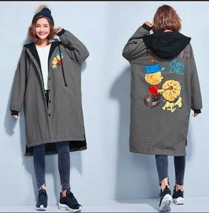 【秋冬新作】裏起毛 ファッションコート