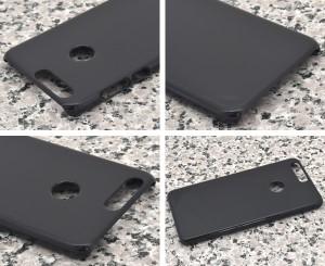 Huawei honor 8 ハードブラックケース (黒色ハードケース)  Huawei honor8 SIMフリー携帯用保護ケース/保護カバー スマホケース