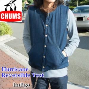 CHUMS(チャムス) メンズ  ハリケーン リバーシブル ベスト CH04-1088