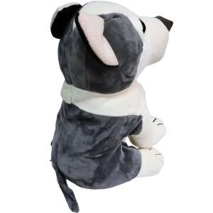 AOPATNDOGOM-HK/内藤デザイン研究所/【Partner Dogs/パートナードックス】ぬいぐるみMサイズ(ハスキー)/玩具/TOY/インテリア/犬