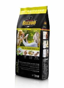 BELCANDO  アダルト グレインフリー(穀物不使用)ポートリー 穀物類に敏感な全犬種通常活動犬用 1Kg ドイツ産 プレミアムフード