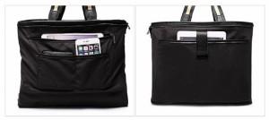 【送料無料】 メンズ トートバッグ 軽量 ナイロン 2way 2色 ブラック ネイビー 通勤