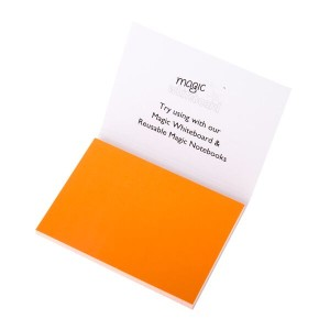 ホワイトボード マジックホワイトボードMagic Cling Notesメモ帳 |三色セット