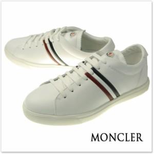 【セール 40%OFF!】MONCLER モンクレール メンズローカットスニーカー LA COURE / 10153-00-019E0 ホワイト