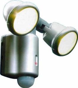 人感/明暗センサーライト センサーライト 75W×2灯 SR-752 オーム電機 07-5568