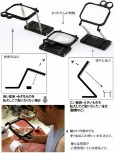 池田レンズ工業 ワイドビュースタンドルーペ 1795 送料無料!! 即納!!