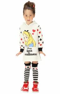 週末限定SALE60%OFF ディズニー スウェットパーカーワンピース-ベビーサイズ キッズ ベビードール 子供服/DISNEY-8533K