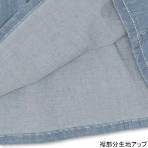 FW_SALE30%OFF デニムノースリワンピース-ベビーサイズ キッズ 襟付き ベビードール 子供服-9411K