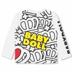 8/18NEW♪ディズニー ラブラブロンT-ベビーサイズ キッズ ベビードール 子供服/DISNEY-9761K
