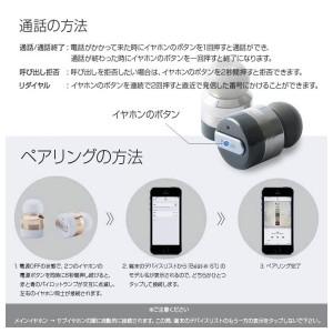 ワイヤレスイヤホン Bluetooth BI9314【3145】 Beat-in Power Bank 4.1対応 両耳 高音質 スペースグレー ロア・インターナショナル
