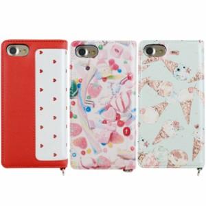 iPhone8 iPhone7 iPhone6s/6 対応【MILK/ミルク】「手帳型 ケース(3color)」 レザーケース  かわいい ハート柄