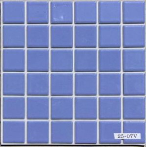 DIY Tile 貼れる君 23ミリ角 青藤色 2507V  お手軽タイプ