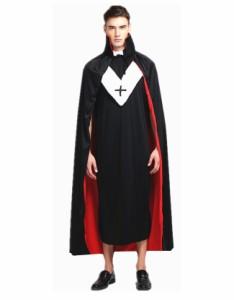 メール便送料無料 ハロウィン衣装 コスプレ 仮装 コスチューム 大人用 ウィッチ 魔女 セット 肩掛け マント クローク フェアリー  帽子
