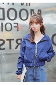アウター ジャケット 上着 大きいサイズ レディース 可愛い 女性 オーバーサイズ 秋服お洒落 ワインレッドスカジャン ウインドブレーカー