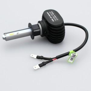 車検対応 アテンザ 8000LM LEDヘッドライト H1 LEDフォグランプ H1 コンパクト後方40mm 6500K 12V 24V