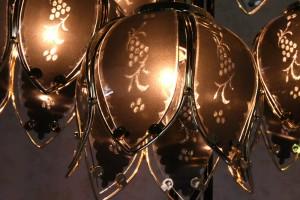 【送料無料】エレガント 【スタンドランプ】ヨーロピアン ブラック 5灯 フロアスタンド 寝室 照明 花 アイアン