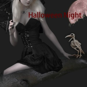 ハロウィンデコレーション スケルトンカラス Skeleton Raven カラスの骨 ハロウィンコスプレ小道具