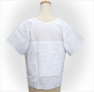 着物和装下着インナー 燈芯あしべ織汗取り補正肌着(肌襦袢)大きいサイズLL(日本製)