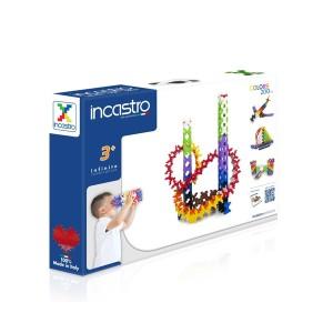 知育ブロック INCASTRO(インカストロ)200(200ピース入り)