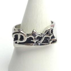 D&A 百合の紋章 リング ゆり ユリ シルバーカラー ミディ  レディース メンズ 指輪 アクセサリー h-re219