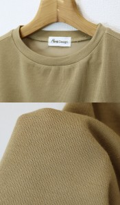 【L-8】【新色登場!】Tシャツ レディース 半袖 フレンチスリーブ ニットカットソー トップス カットソー 無地 ノースリー