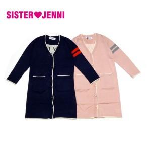 JENNI ジェニィ ジェニー 子供服 17秋冬 ニットロングカーディガン je82019
