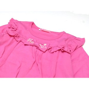 RONI ロニィ ロニー 子供服 17秋冬 天竺フリル長袖Tシャツ r137433040-4123
