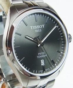 TISSOT(ティソ) PR100 チタンクォーツ T101.410.44.061.00 日本正規品