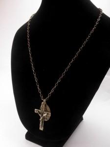 キリストクロスネックレス・メール便(ゆうパケット)なら送料無料・マリア・イエス・キレイめ・男女OK・キレイ系・M-1530