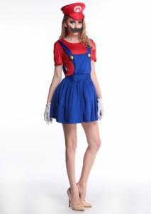 M〜3L★4setゲームキャラクター風大人ハロウィン仮装大きいサイズコスプレ ドレス ワンピース 衣装 大きいサイズあり