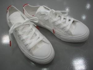 コンバース オールスター COLOR INWHITE OX カラー インホワイト オックス ホワイト/レッド