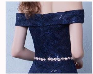 激安 ロングドレス オフショルダー パーティードレス 結婚式 挙式 花嫁 人気 マーメイドライン ウェディングドレス 高品質 ファスナー