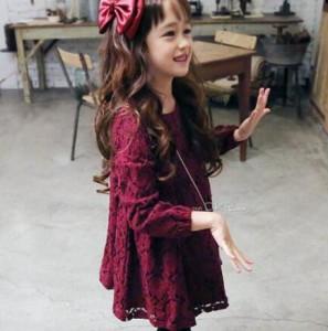 秋新作 長袖ワンピースキッズ服 子供服 女の子  子ども キッズ ベビー   100~150cm 超可愛い 厚手/薄手プリンセス