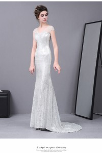 超人気 贅沢★ウェディングドレスパーティードレス マーメイドドレス 結婚式 トレーン ドレス イブニングドレス  セクシー ファスナー