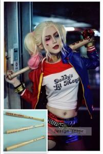 コスプレ道具 スーサイド・スクワッド ハーレイ・クイン風 Suicide Squad Harley Quinn 野球 バット  ハロウィン T002