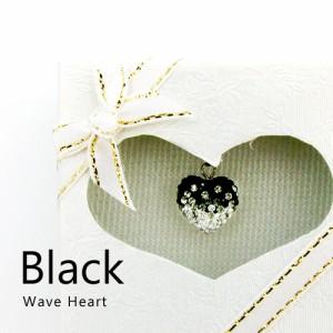 【送料無料】 Wave heart スワロ ウェーブハートボール ボール ネックレス ペンダント iPhoneアクセサリー アクセサリー 可愛い