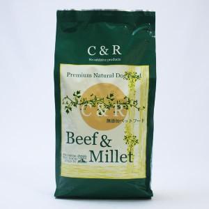 【C&R】ビーフ&ミレット2.27kg (旧SGJプロダクツ ビーフ&バーリー)ドッグフード