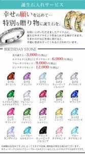 【オリジナルアクセ】誕生石入れオプション/お好きなアクセサリーに石入れができます/各月の誕生石/ジルコニア/STONE-1/338866/母の日