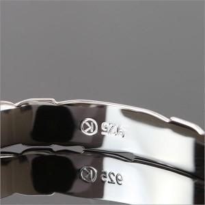 刻印 送料無料 ハワイアンジュエリー バングル レディース メンズ バングル ブレスレット シルバー925 B5003-8